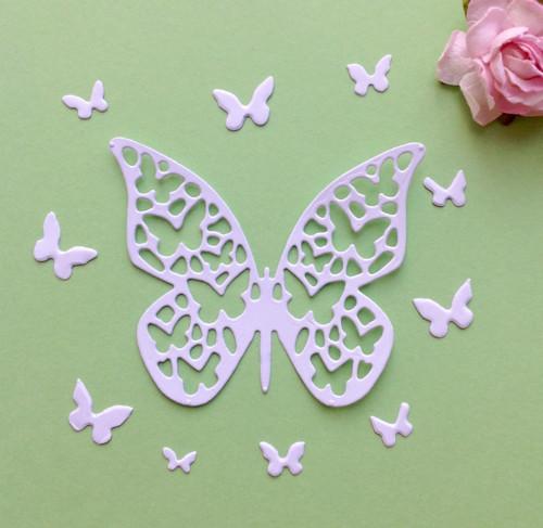 Motýli- sada 1+10ks  , barva dle přání (MOT 34)