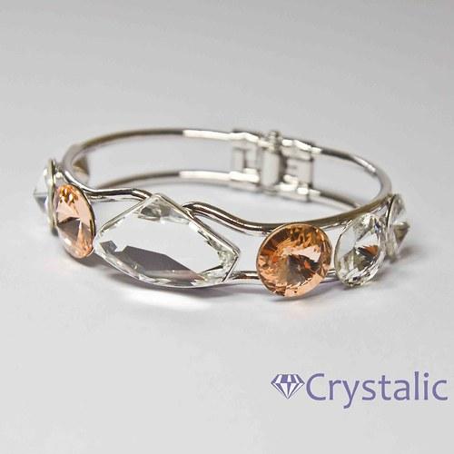 Náramek s kameny  SWAROVSKI Crystals