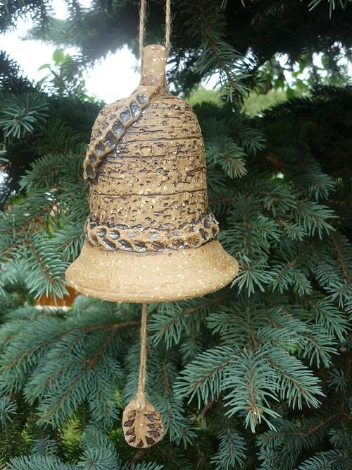 Keramický zvon - 13cm
