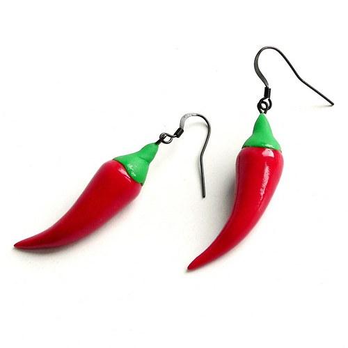 Chilli papričky pro ostré slečny a dámy