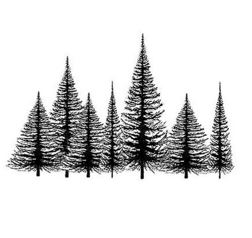 Silikonové razítko Lavinia / Tree Group