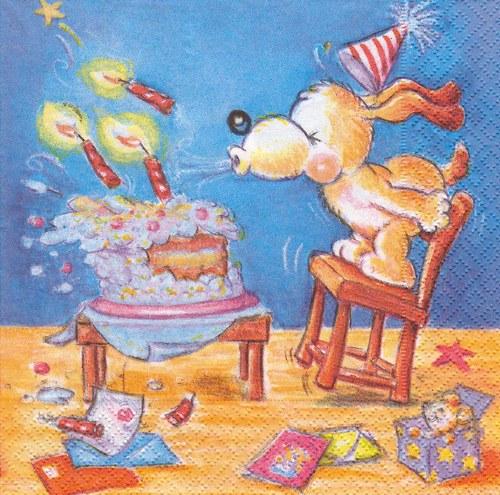 Ubrousek - narozeninová oslava (2 ks - AKCE)
