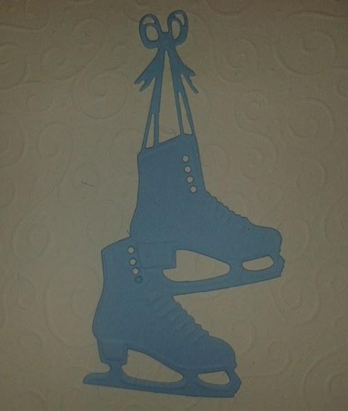 Brusle - světle modré