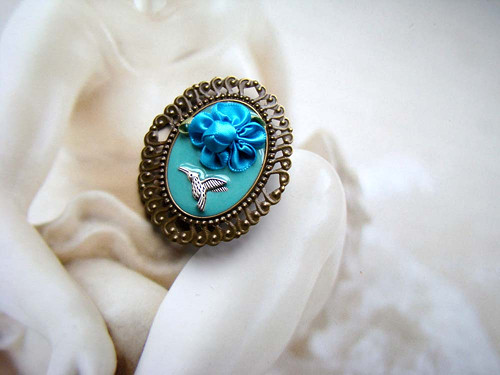 Mlsoun kolibříček II - brož