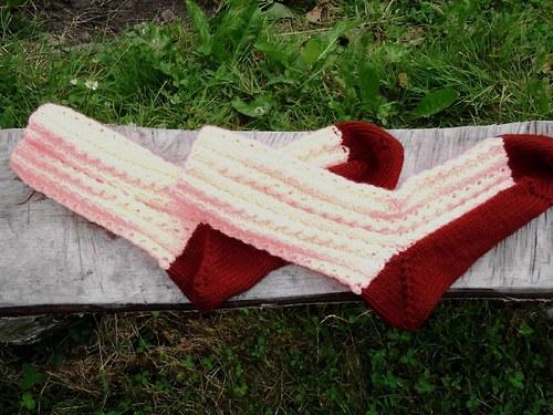 Krajkové ponožky na Vaše přání