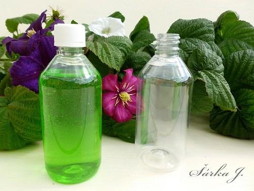 plastové lahvičky s uzávěrem, 115 ml