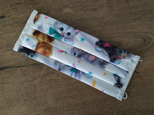 Rouška -dvouvrstvá s kapsou americká desig. bavlna
