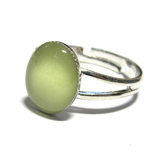 Svítící prsten - ovál 8x10 mm
