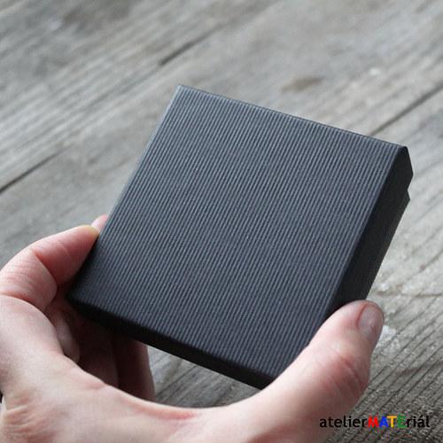 Papírová krabička SOFIA černá L