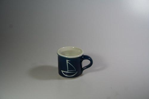 porcelánový hrnek na kafíčko