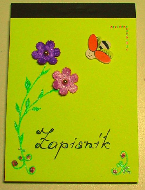 Zápisník jarní