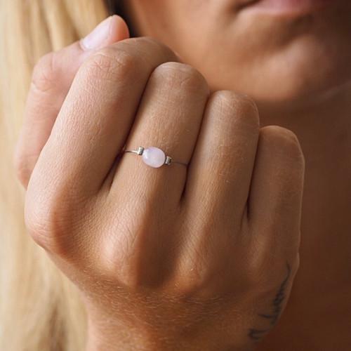 Minimalistické prsteny |MINERÁL, Ag 925/1000|