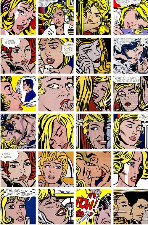 Nažehlovací obrázky - Komiks - cena za všechny