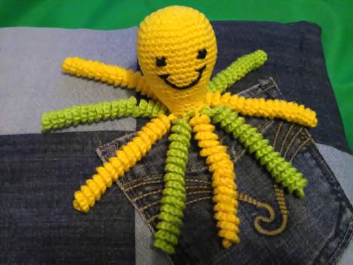 Chobotnice žlutozelená