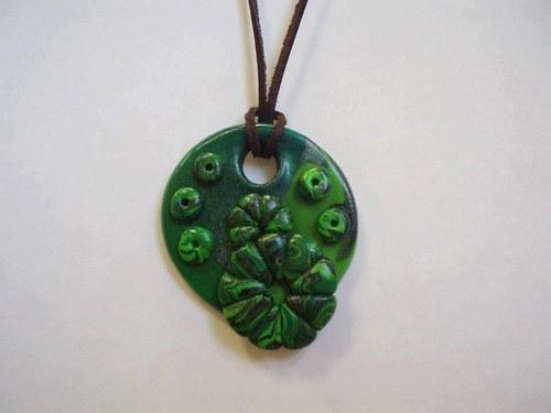Náhrdelník Zeleň