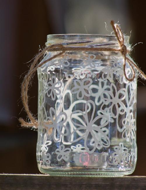 Svatebni Dekorace Zavesne Sklenice Svicky Kvety Zbozi Prodejce
