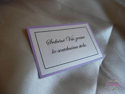 Pozvánky na hostinu Elegant
