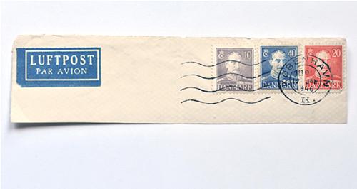 Filatelie -  poštovní známky Dánsko 1946