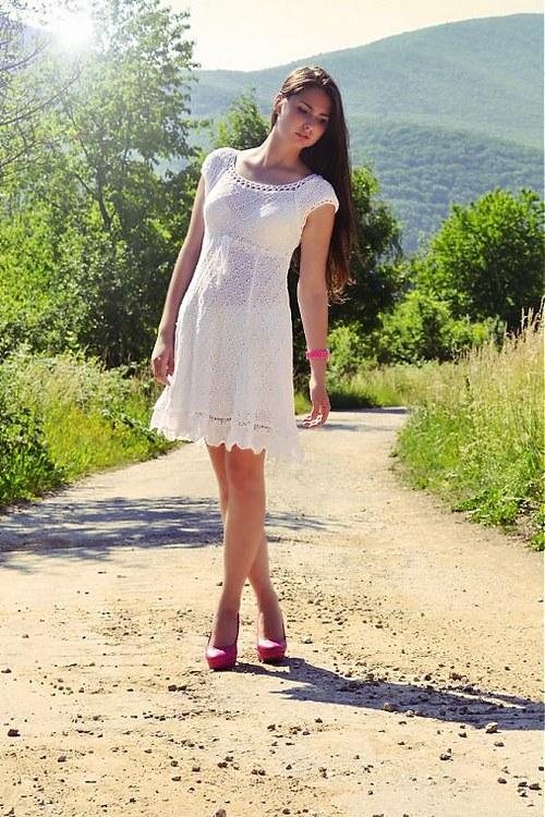 Amalia white dress