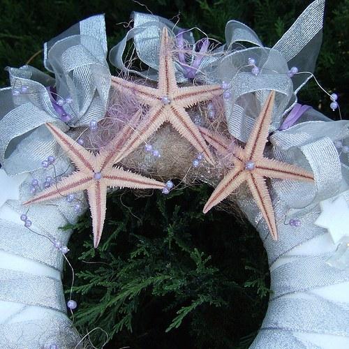 Věnec-S mořskými hvězdicemi