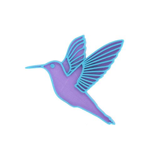 Kolibřík violet/turquoise blue