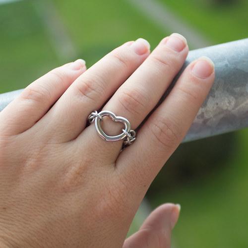 S láskou - prstýnek