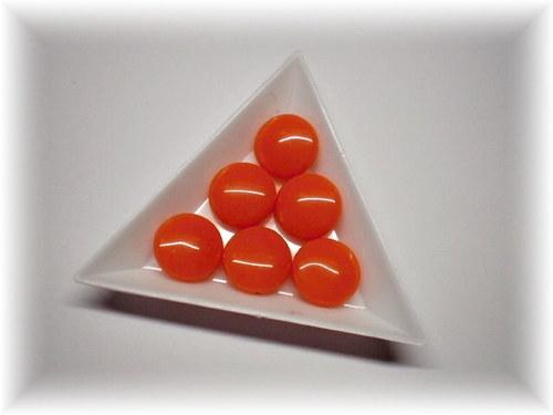 Oranžové lentilky, 6ks