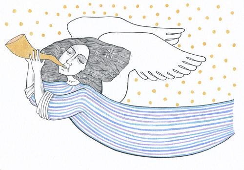 Anděl trubač