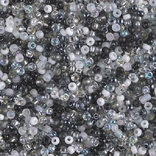MIX Miyuki Seed Beads 8/0 - Mix Salt and Pepper