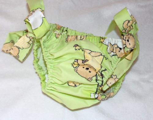 Plenkové kalhotky - zelené