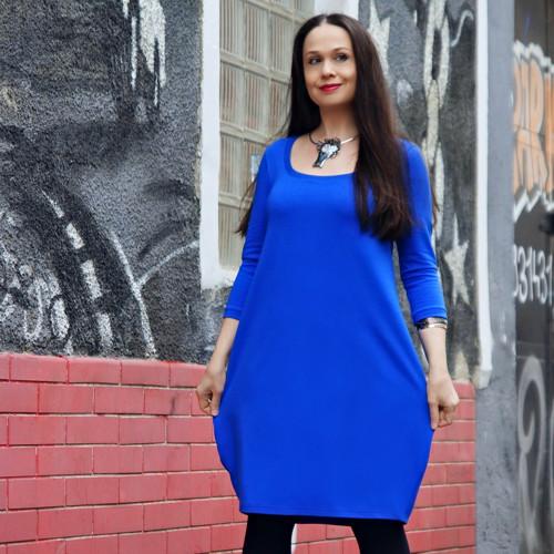 "šaty \""CLASSIC BLUE\"" No.1 s kapsami (vel.38)"