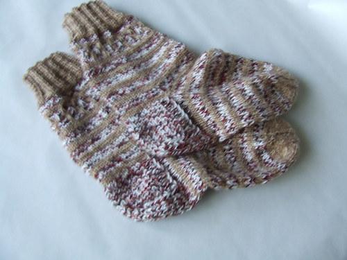 Melírované ponožky č.37-38