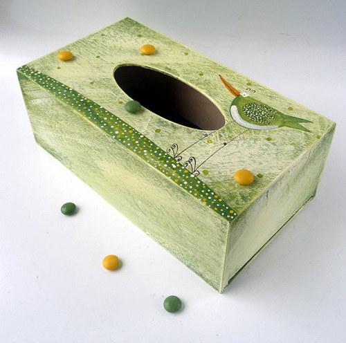 pelíšek pro trpaslíka - zelený s Karlíkem Slavíkem
