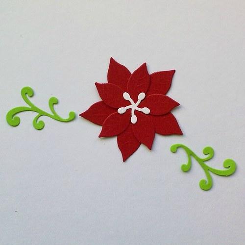 Výsek - Vrstvená vánoční hvězda (velká)
