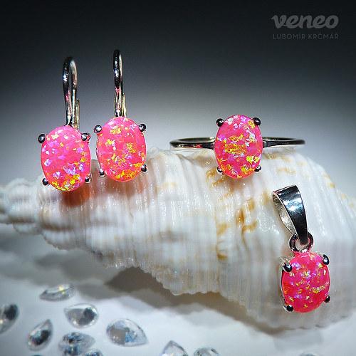 Ariana 8 - souprava šperků s venezuelskými opály