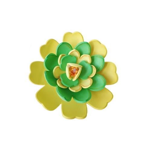 Sponka gummy žluto-zelená