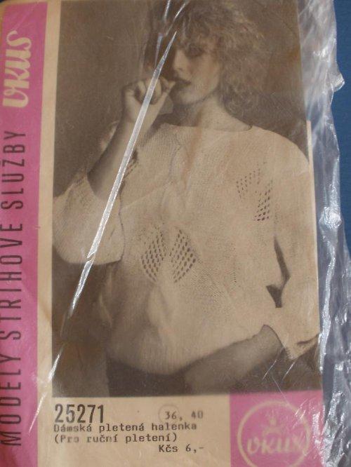 Dámská pletená halenka