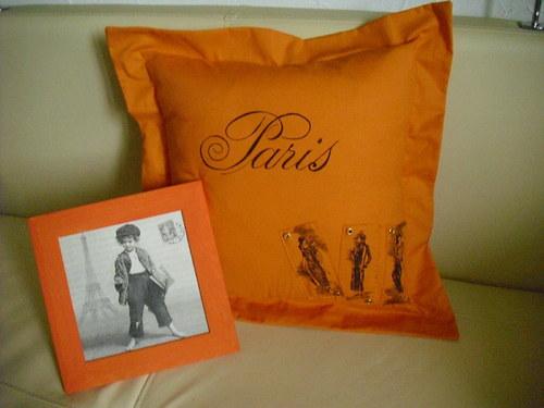 Paříž v oranžové