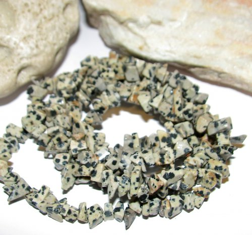 Jaspis dalmatin - větší zlomky 40-45cm