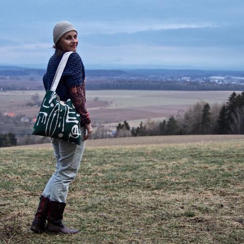 Pohledy do kraje... - len/bavlna taška