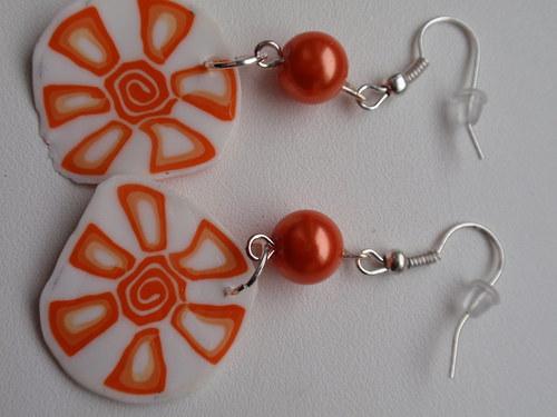 Oranžové kytky