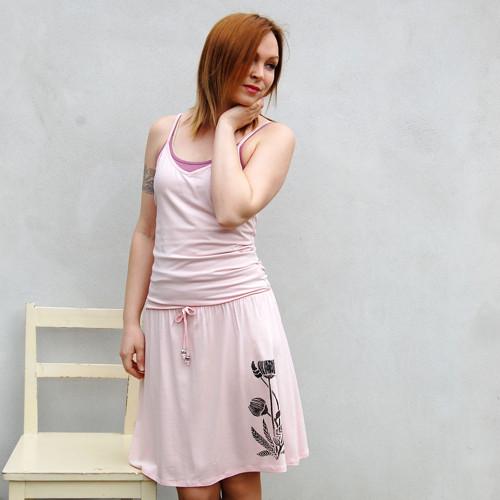 Šaty Chrpa – světle růžová