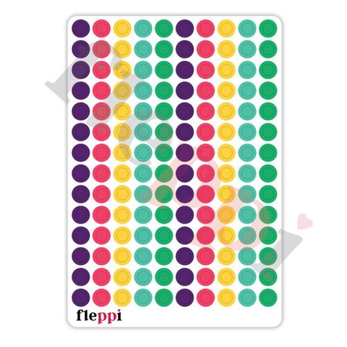 Samolepky  Colour coding | 140ks Silly Day