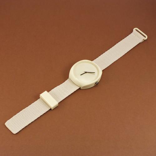 Designové hodinky duha ivory