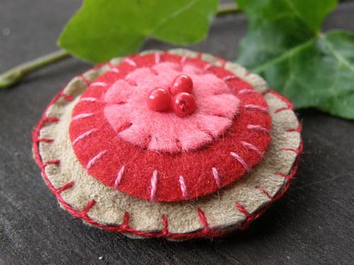 Jahodový dortík :)