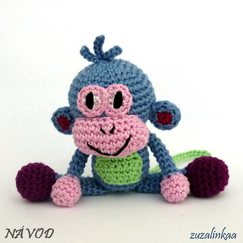 Návod - Opička (hračka)