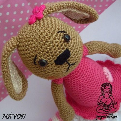 Návod - Zajíček II (hračka)