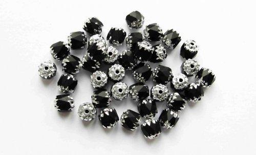 Broušené perle 6mm (ev.č.2382011) -20ks