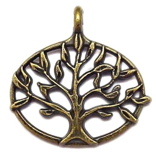 Bronzový přívěsek - strom života