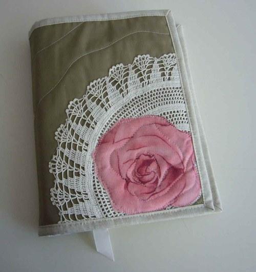 Originální obal na knihu - růže